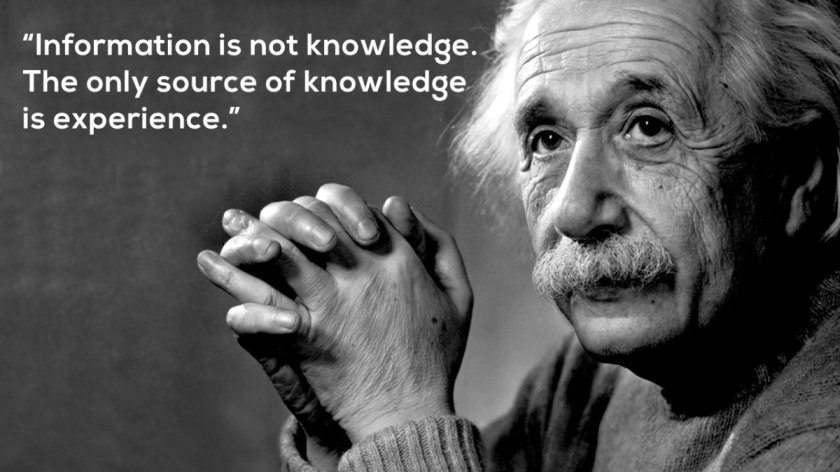 information-is-not-knowledge-einstein